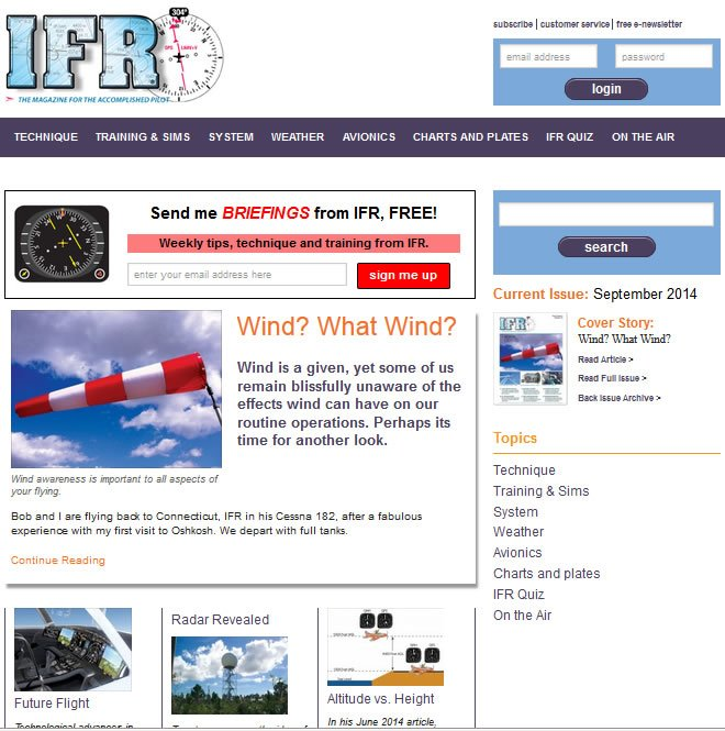 IFR website
