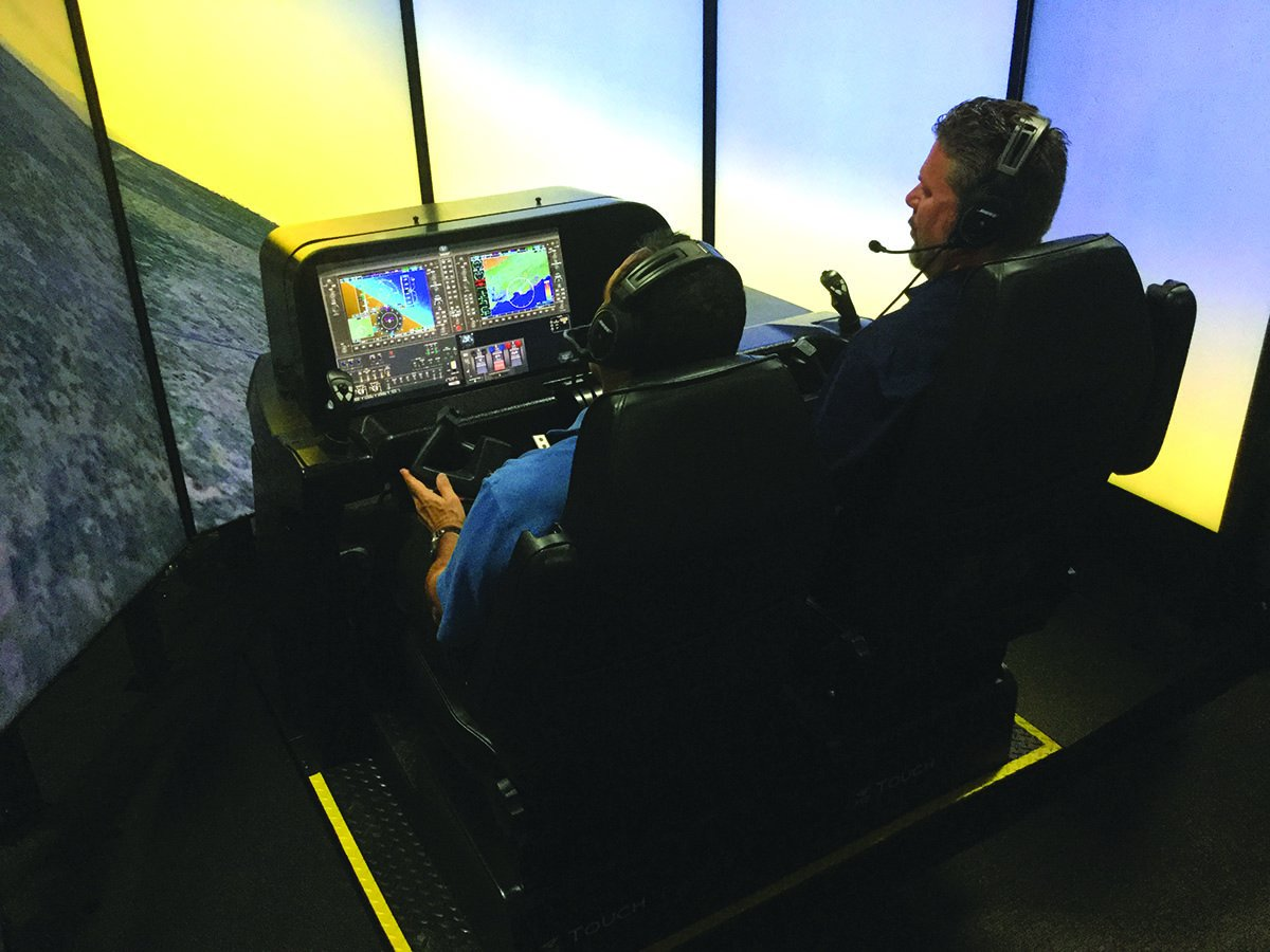 flight training simulation
