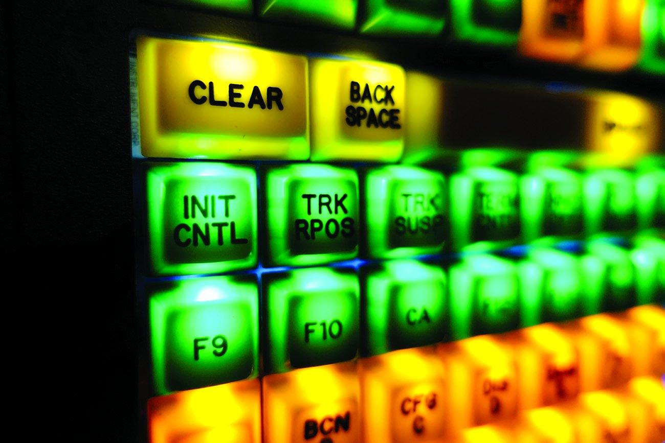 aircraft control panel INIT CTRL