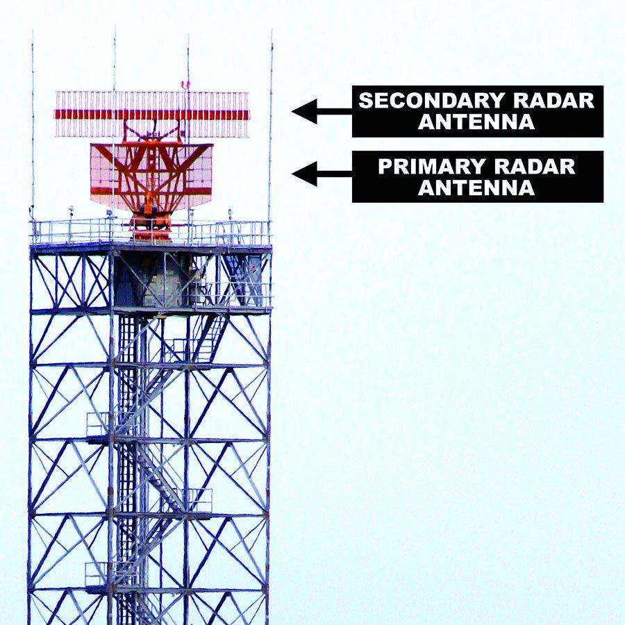 air traffic radar antenna