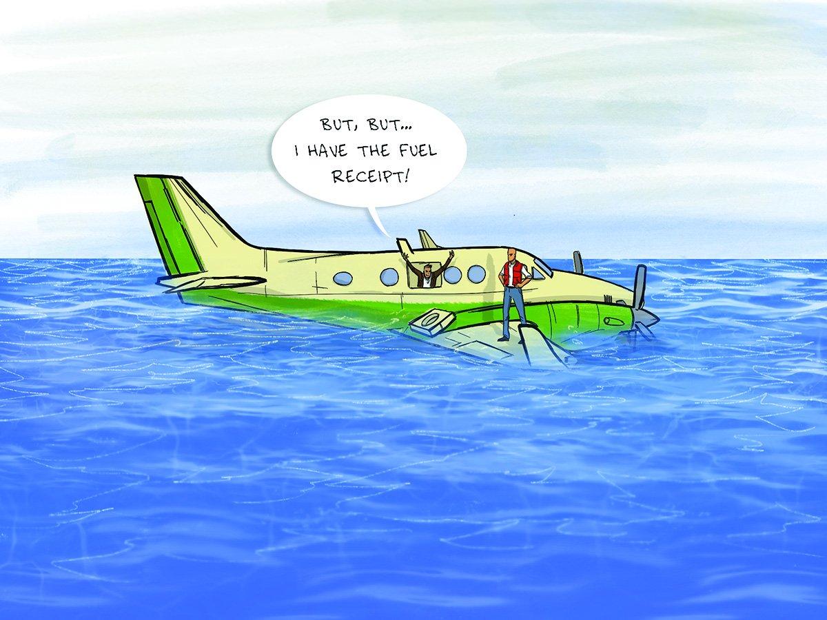 aviation cartoon Ben Bishop