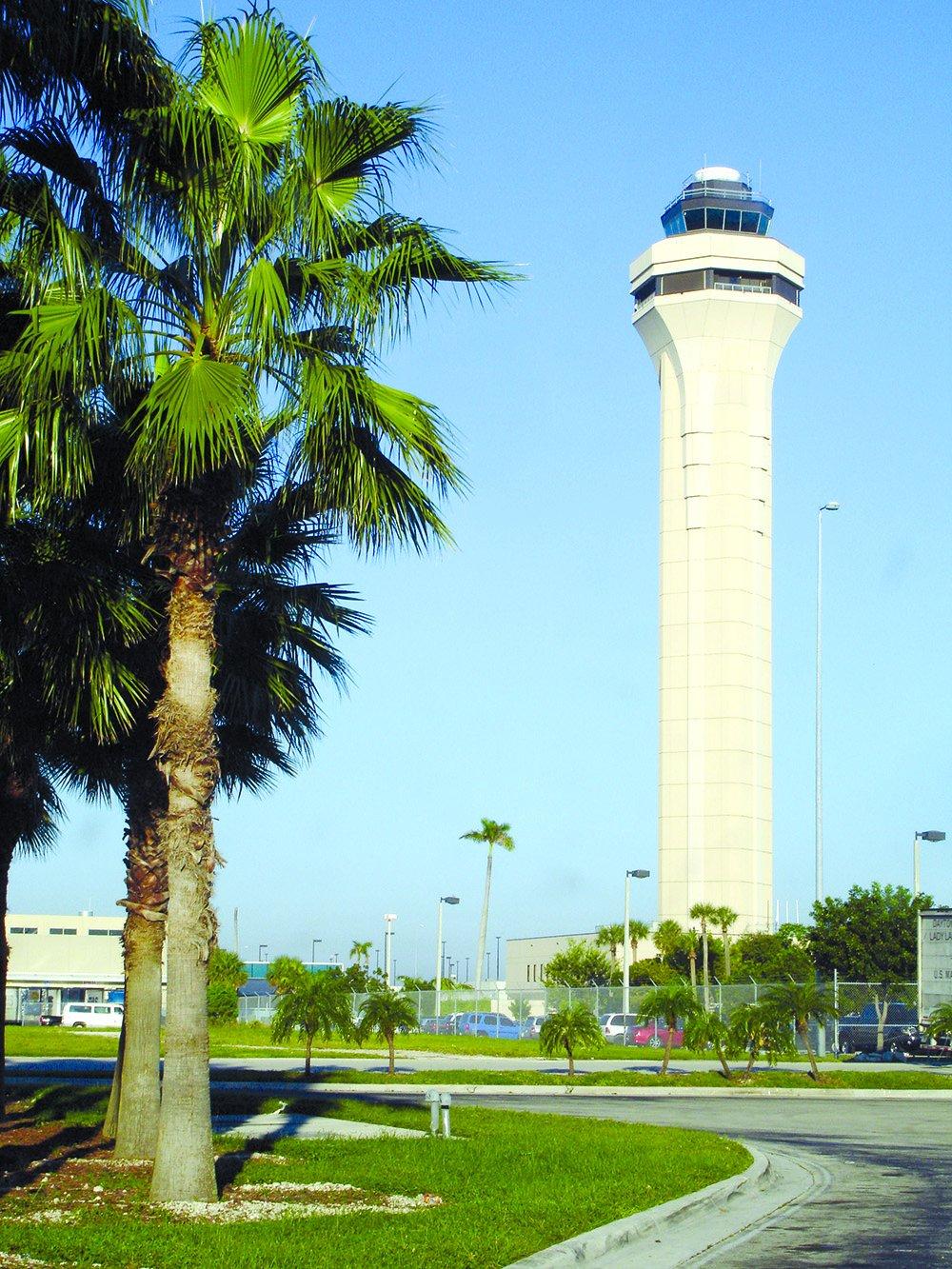 Miami air traffic tower