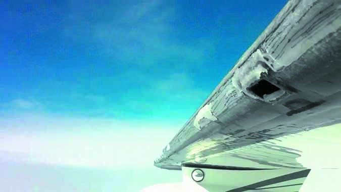 aircraft wing icing