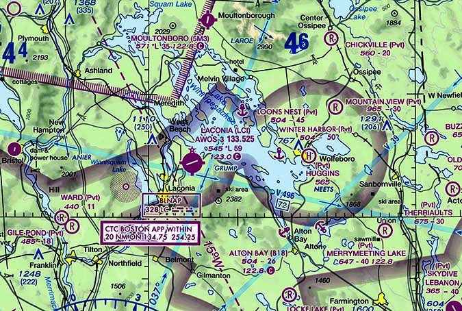 airspace map