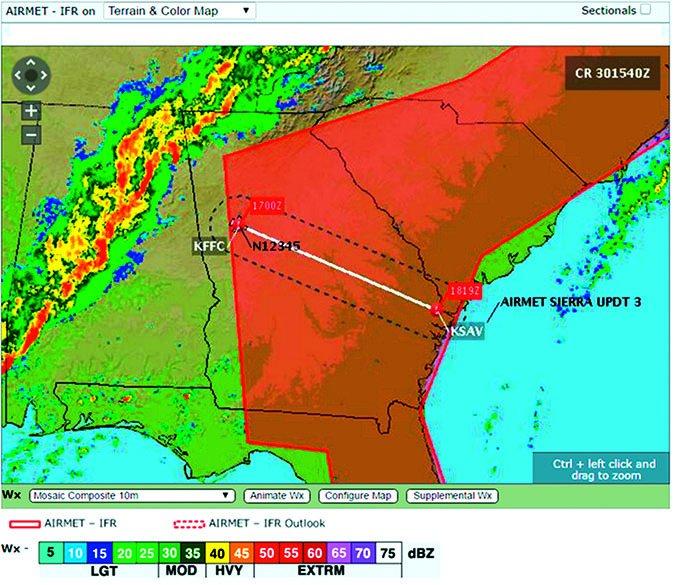 Thunderstorm Map