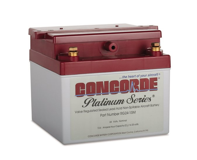 Concorde batteries