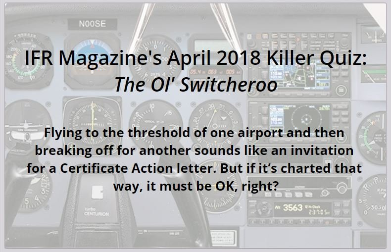 ifr magazine april 2018 quiz