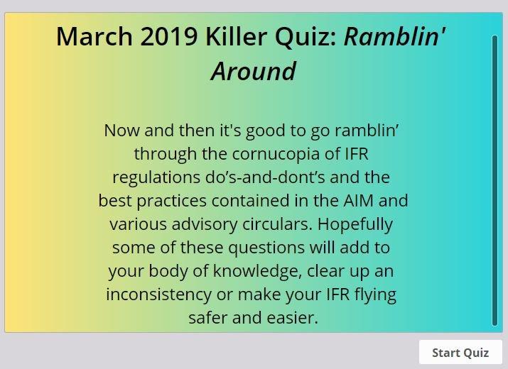 ifr magazine quiz